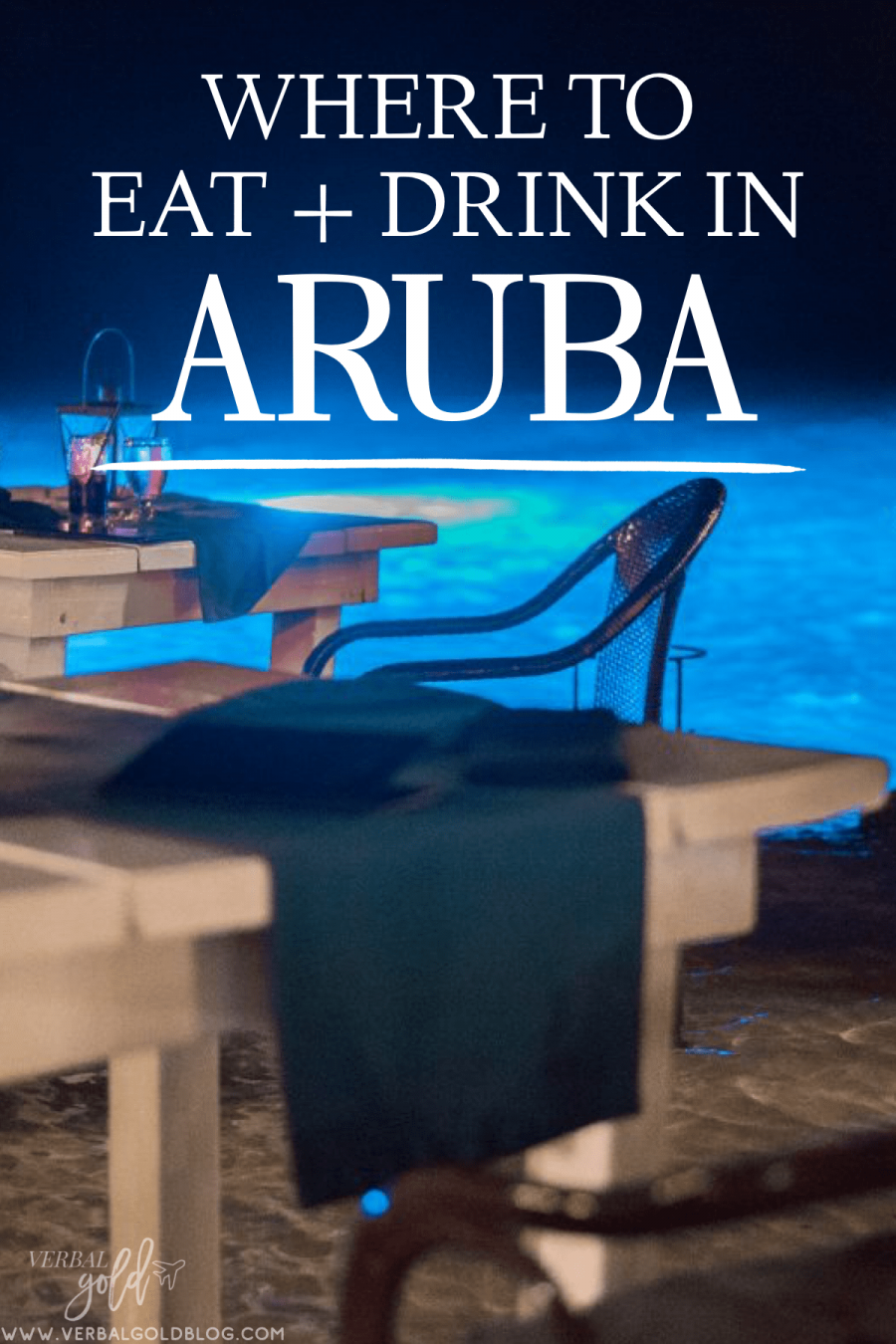 In this travel guide to Aruba, I share the top places to eat and drink in Aruba