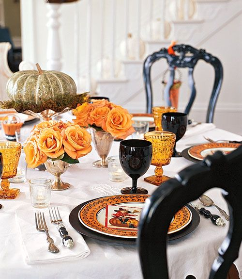 halloween table decor sophisticated spook party