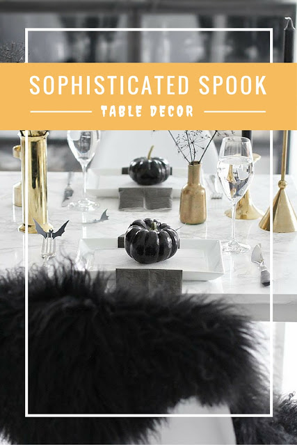 halloween table decor sophisticated spook party kylie jenner