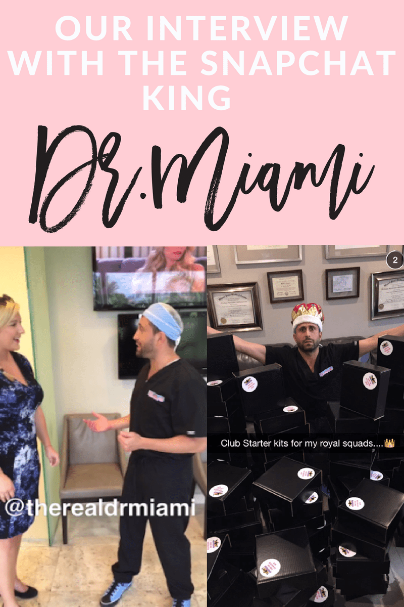 interview with dr.miami