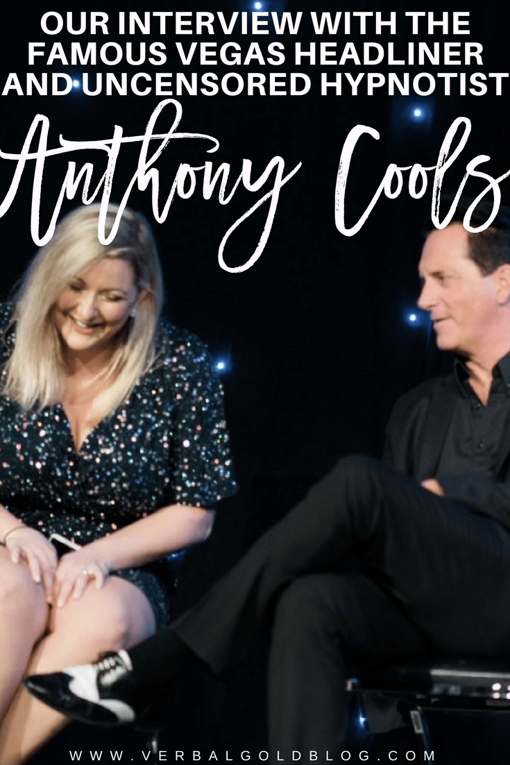 Anthony cools experience Vegas show