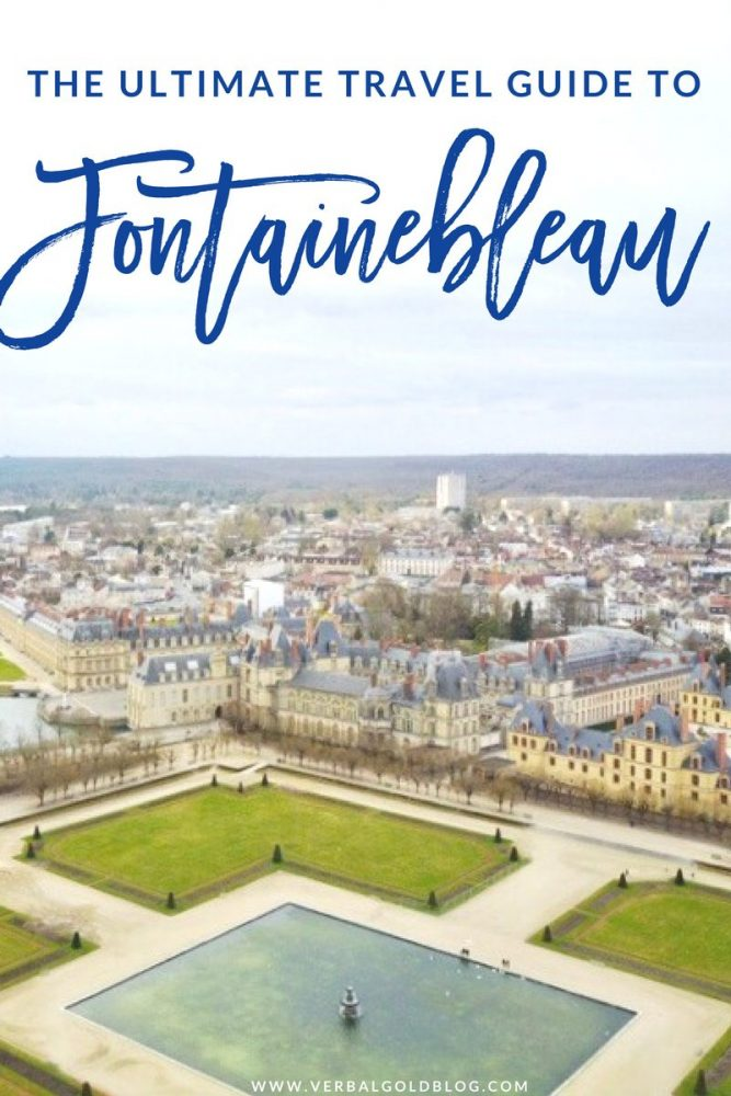 travel guide city guide to fontainebleau France