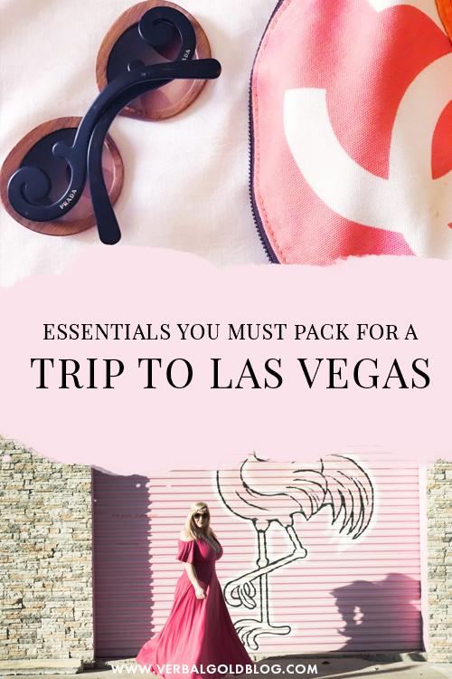 5 Travel Essentials For Las Vegas