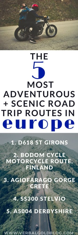 The 5 Most Adventurous and Scenic Road Trip Routes In Europe - Perfect for Motorcycles!