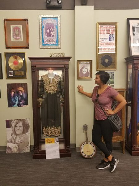 The Texas Musician's Museum is home to displays of famous artists like Janis Joplin, Buddy Holly, Destiny's Child, Jessica Simpson, and more.