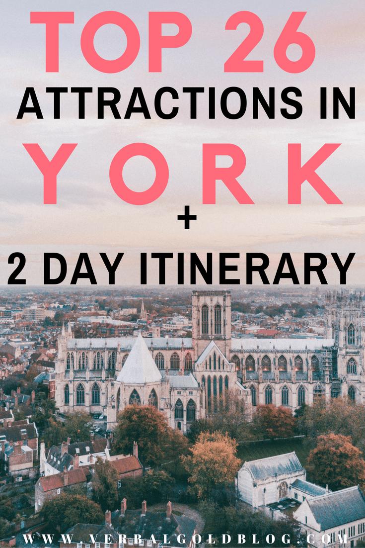 York attractions York itinerary travel blogger