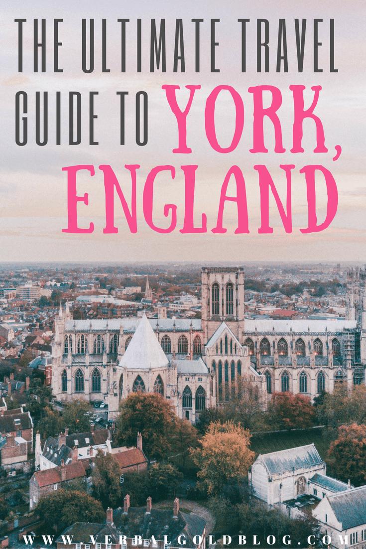 travel guide to York England travel blogger