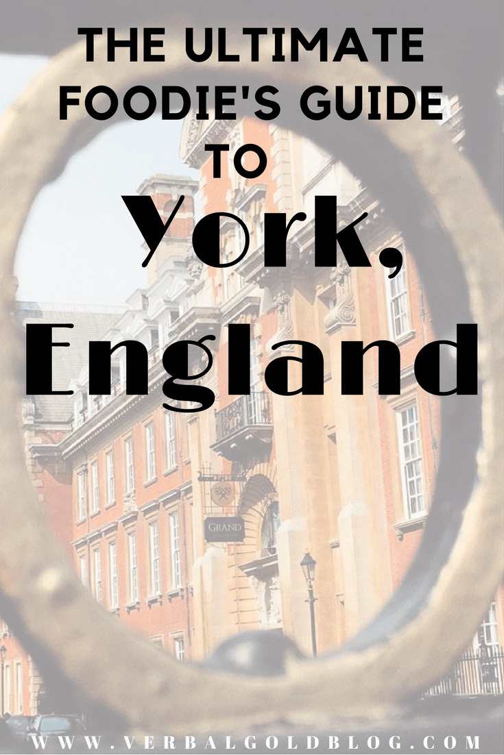 foodies guide to York, England