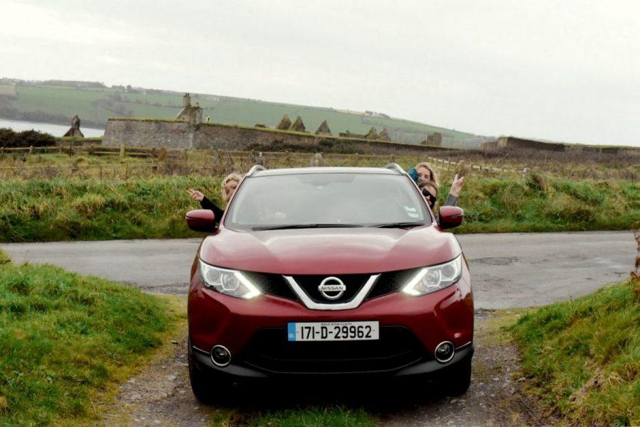 rental car ireland travel blogger