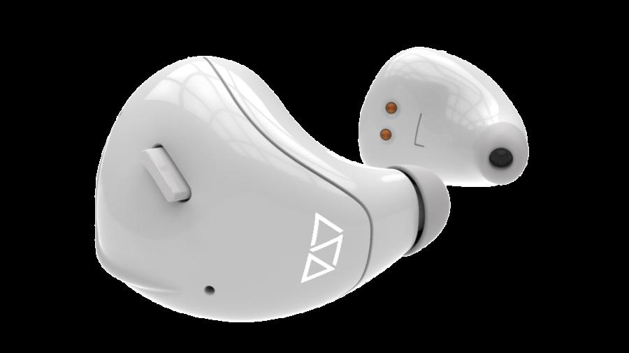 translating ear piece white