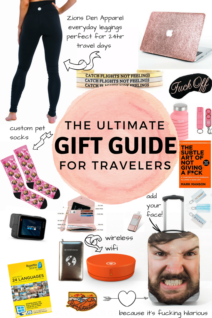 The ultimate holiday gift guide for girls who love to travel