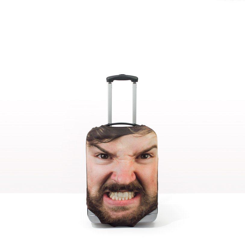 custom luggage case head case face case