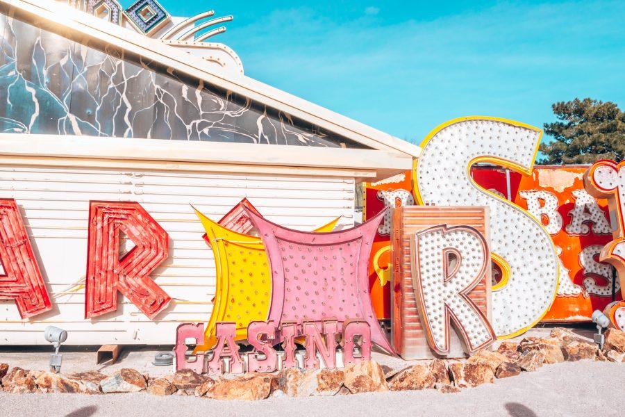 neon museum Las Vegas Nevada travel blogger