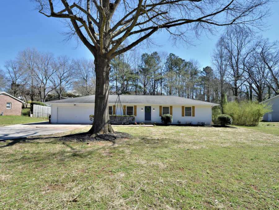 before and after front yard house for sale marietta