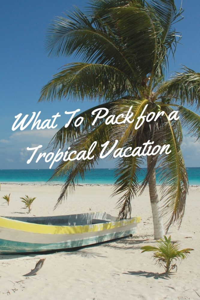 vacation pack list