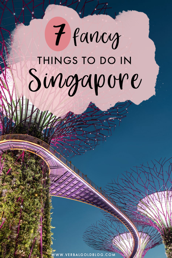 Planning on visiting Singapore and looking for fancy things to do? If you love luxury travel, you'll love this list of your favorite attractions and things to do in Singapore. #Singapore