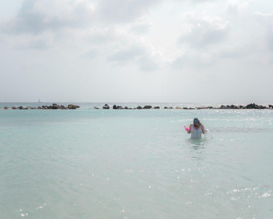Swimming in Renaissance Island!