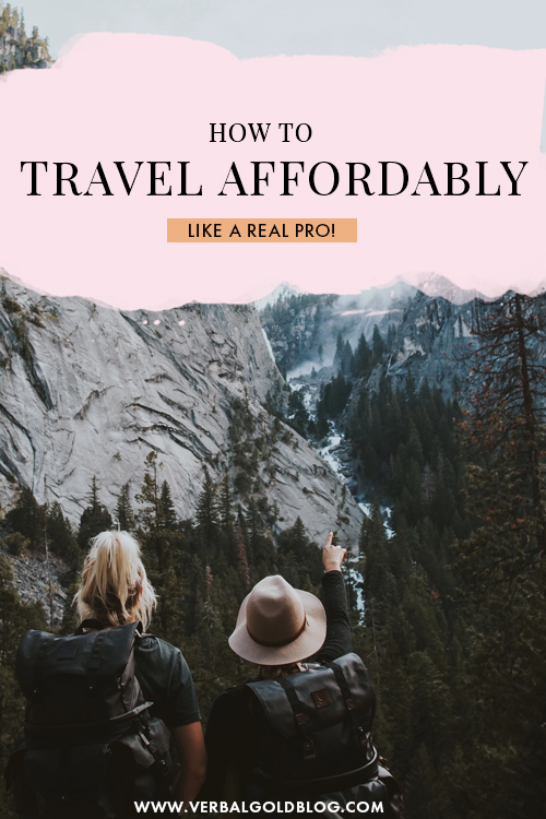How To Travel Affordably