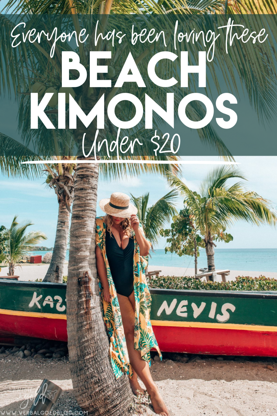 The best beach kimonos for your next holiday! These are the perfect outfits for a cruise holiday, a beach vacation, or a romantic resort staycation!