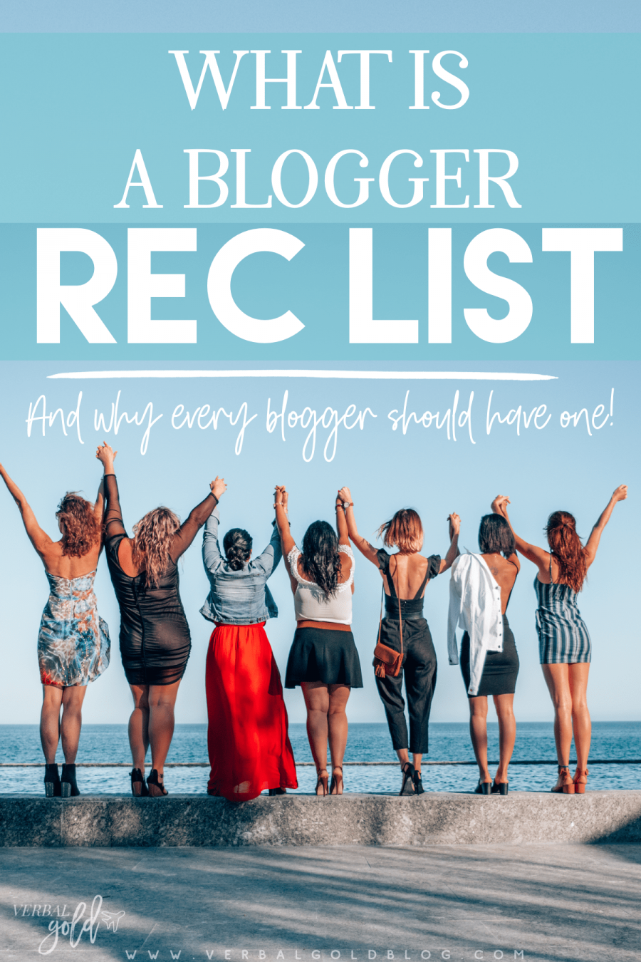 Blogging ain't easy and learning the ins and outs of blogging as a business even less so! In this post, I share why a blogger rec list is a must and the steps to take to create your own! #blogging #business