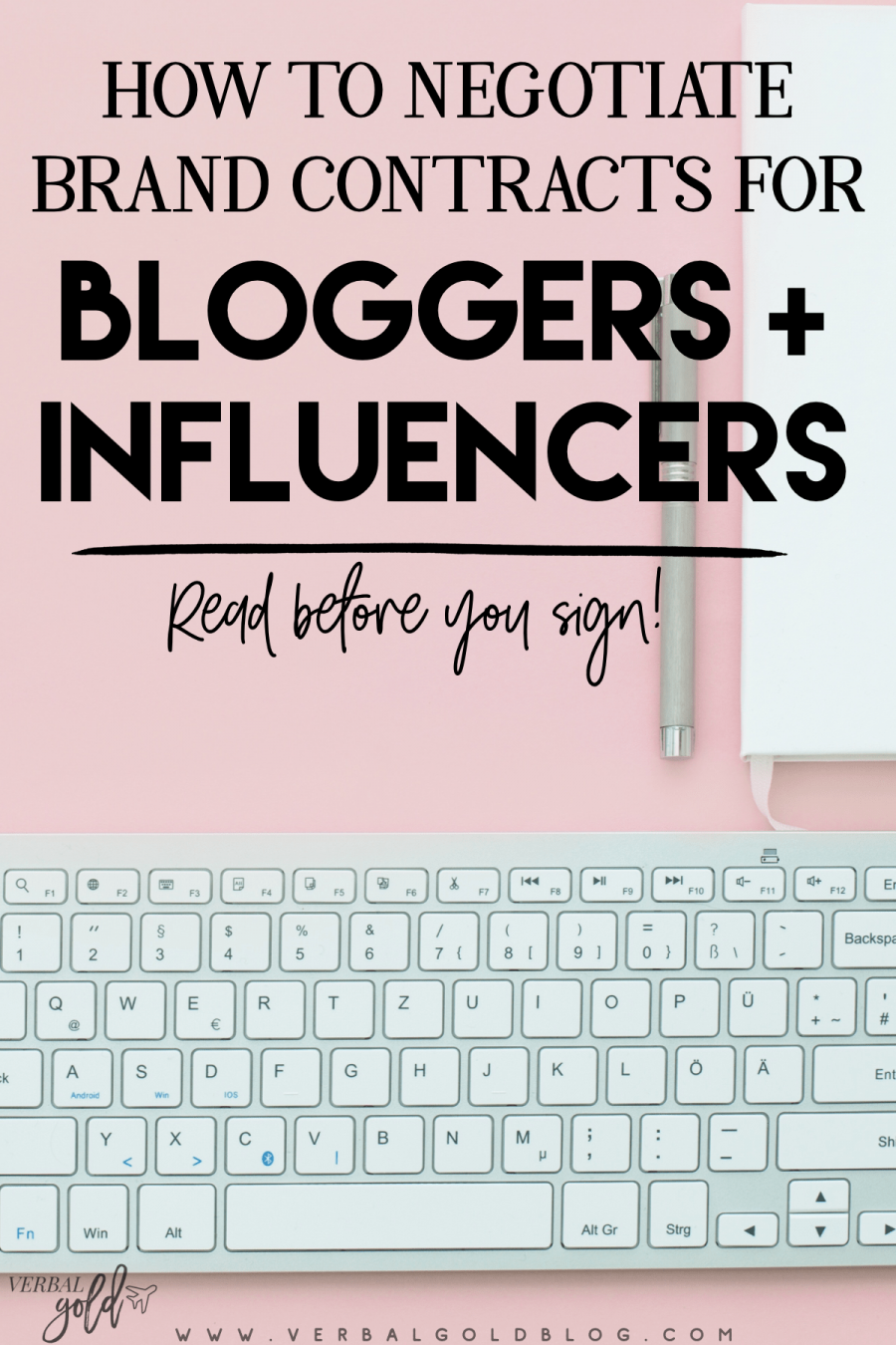 As a blogger or influencer, working with brands can be exciting! If you're new to this, you'll want to make sure brands don't take advantage of you - here's the first ever guide to blogger + influencer contracts that will have you making the most out of your work! #Blogging