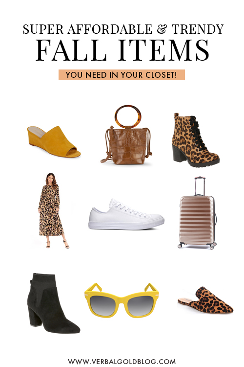 Wondering what's in this Fall 2019? These are the top trends and must haves to add to your closet this autumn!