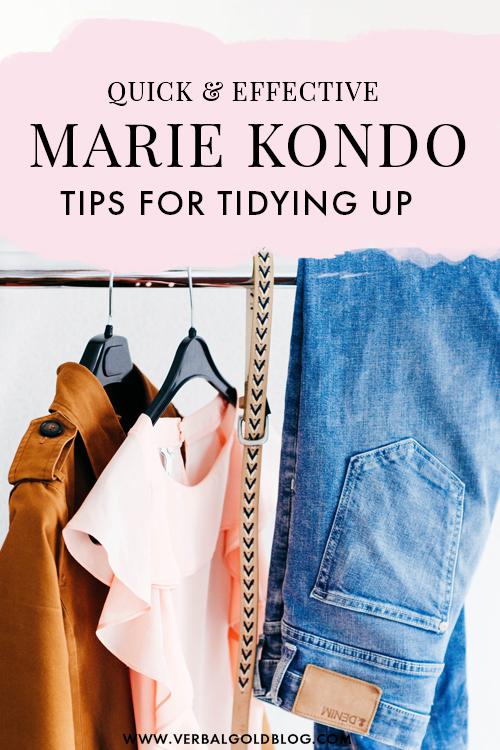 Marie Kondo Tips For a Minimalist Home & Life