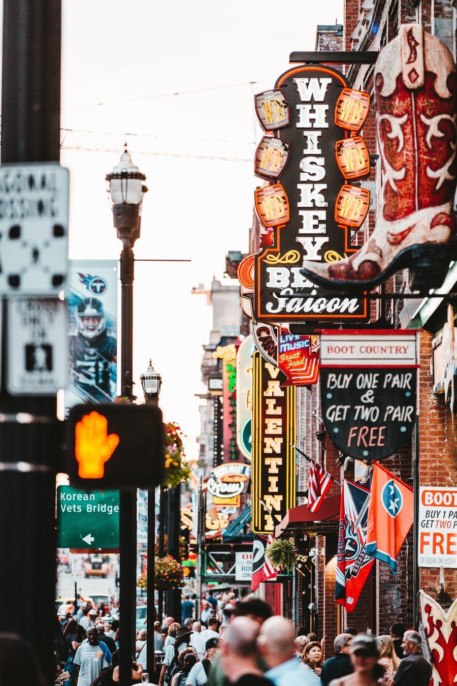 Enjoying Nashville, the Hollywood of Country Music