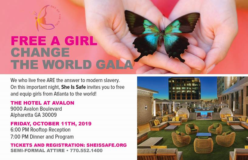 She Is Safe Celebrates International Day of the Girl with Event Series at Avalon Oct. 8-11