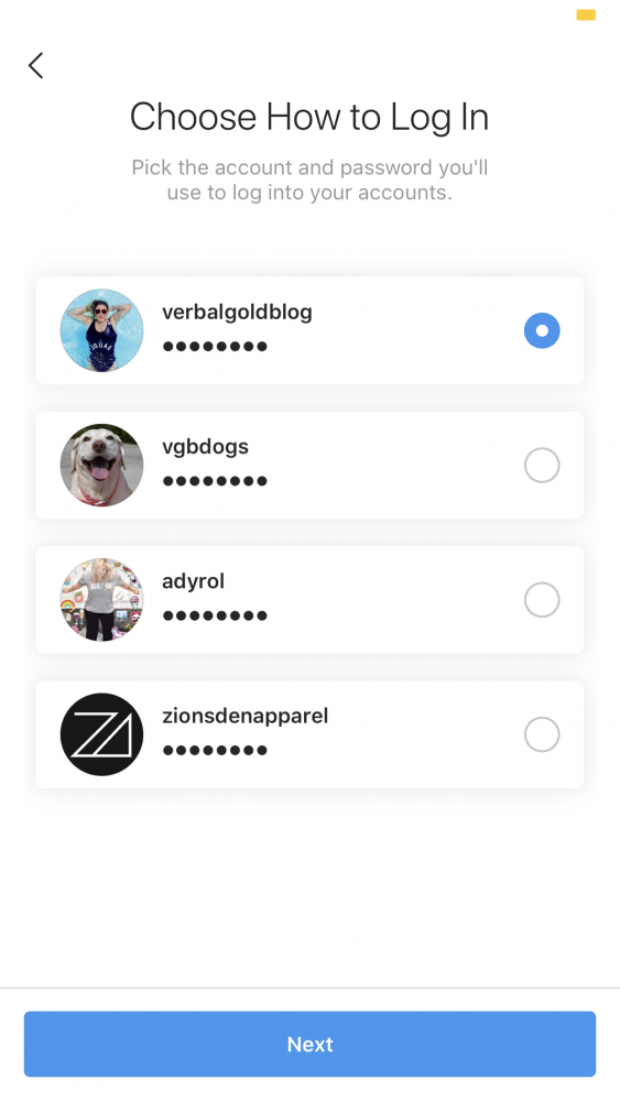 How to link your Instagram accounts