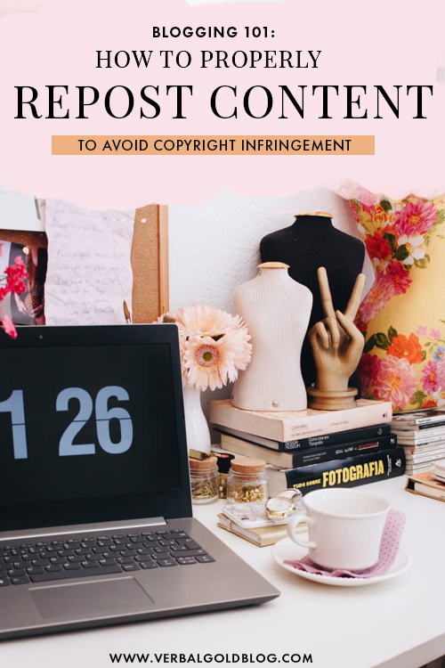 The ultimate guide on how to reshare content and repost images, quotes, and texts online. Here are all our tips and rules to avoid copyright lawsuits as well as tips on how to repost content from Instagram ethically. #Instagram #Blogging