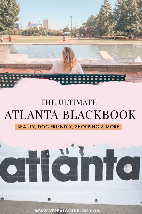 Wondering where to eat, where to go, where to shop, things to do, and more in Atlanta? As a local of Atlanta, I've put together my little Atlanta blackbook with all the best places to go in Atlanta no matter your needs! #Atlanta