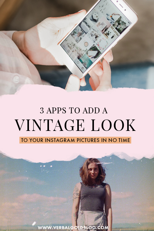3 Apps to Use to Create a Grainy Vintage Look on Your Pictures
