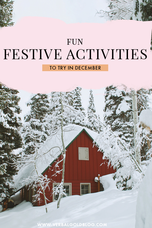 Festive Things to Do in December