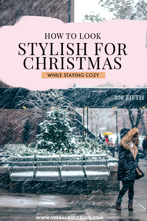 How to Look Stylish During Christmas While Staying Cozy