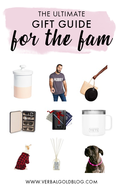 The ultimate list of the best gifts for moms, dads, and dogs! On this gift guide for the holidays, we share the best presents to give the whole family! #GiftGuide