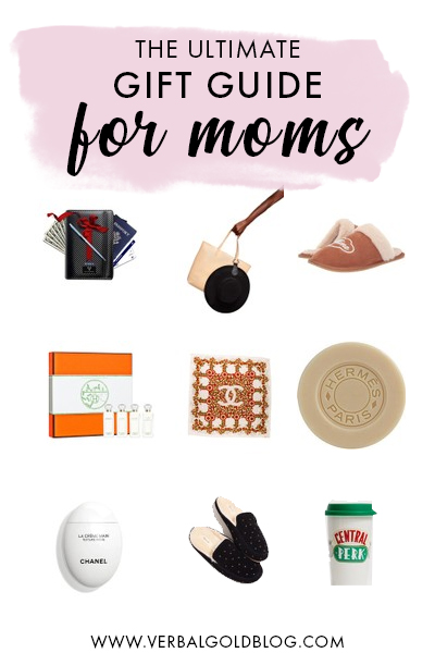 Find the perfect present this holiday season for a mom! From slippers to cosmetics to wine holders for the shower, here is the ultimate list of the best gifts for busy moms! #GiftGuide #Christmas