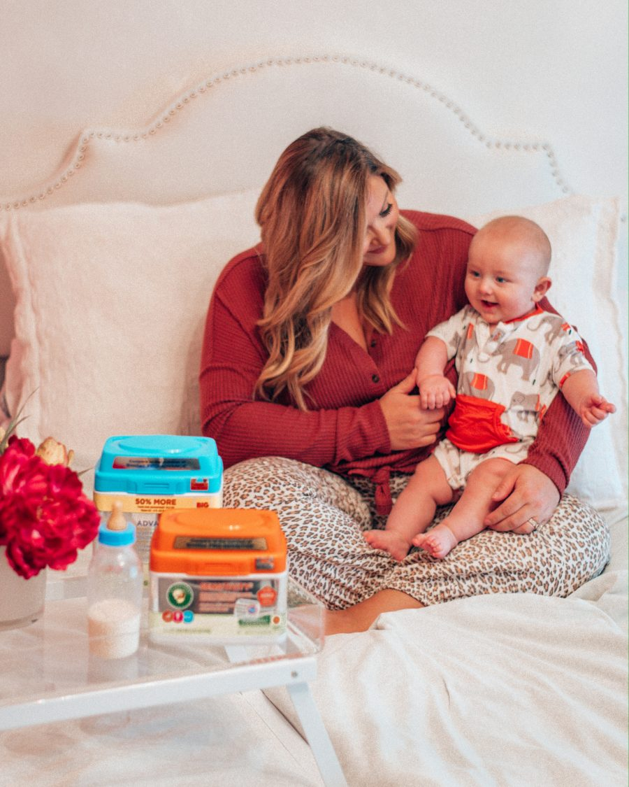 Wondering what is the best formula for a baby? As a new mom, knowing what to give my baby every day is important, so I decided to write a review of ComfortsInfant Formula Benefits for all new moms out there! #Motherhood #NewMom #Baby