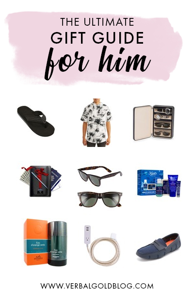 Wondering what to gift a dad? If you're wondering what to buy him, here are a few ideas on this gift guide for him! #GiftGuide
