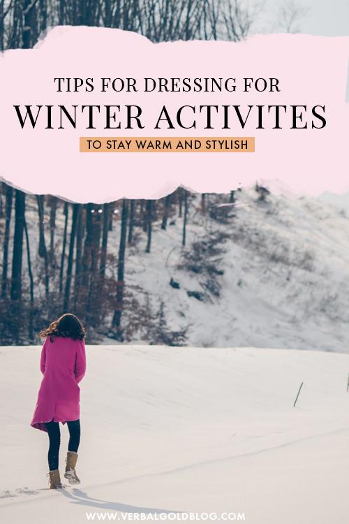 How To Dress For Outdoor Winter Activities