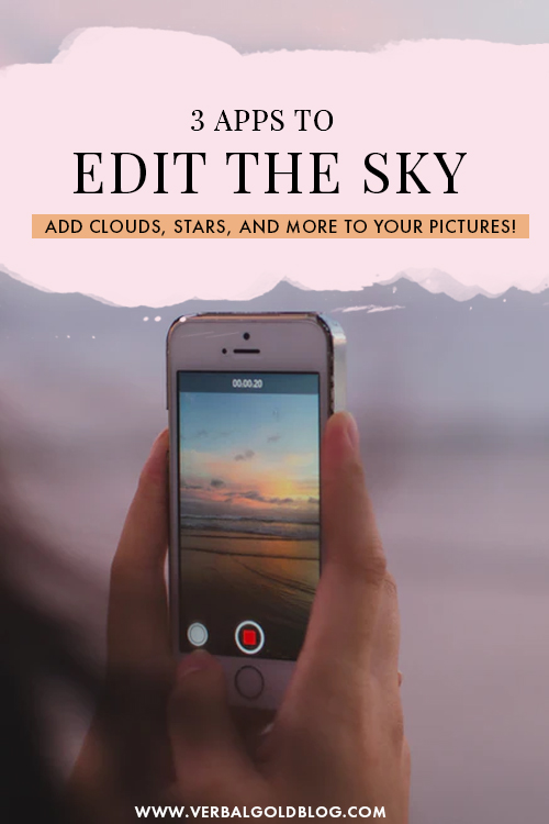 The absolute best apps to edit the sky in your pictures. From adding clouds, to creating starry nights, and more, these are the only tools you need to quickly edit the sky in your Instagram photos!