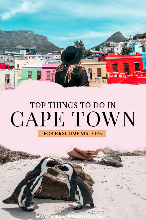 Top Things To Do in Cape Town For First Timers