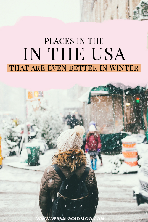 Places in The USA That Are Even Better In Winter