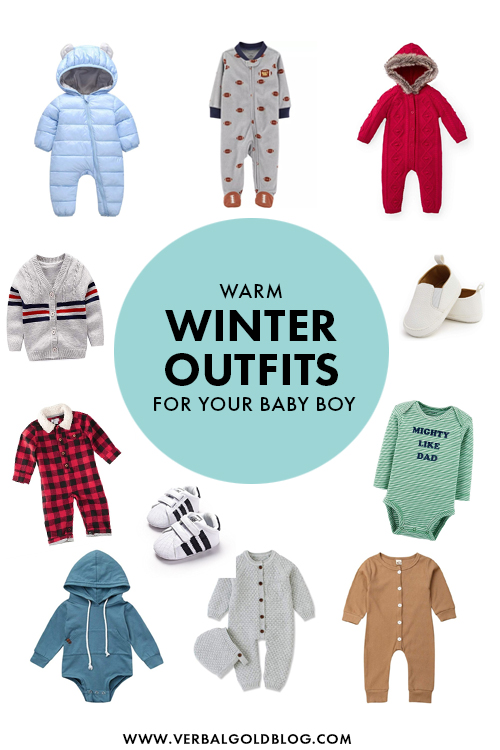 warm winter outfits for your baby boy