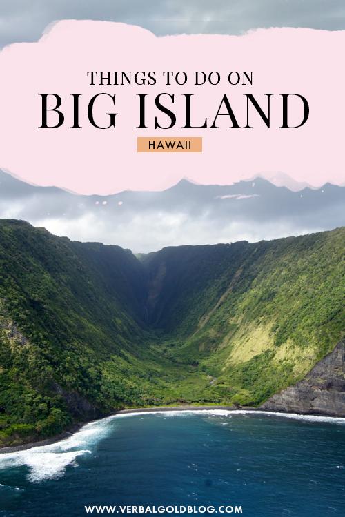 9 Things to do on the Big Island of Hawaii