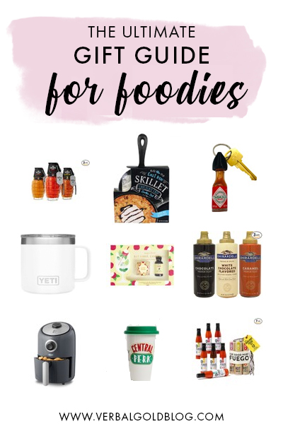 Wondering what to gift your friend who loves to eat? If you have a foodie in your life, here's the ultimate gift guide for foodies that they'll love!