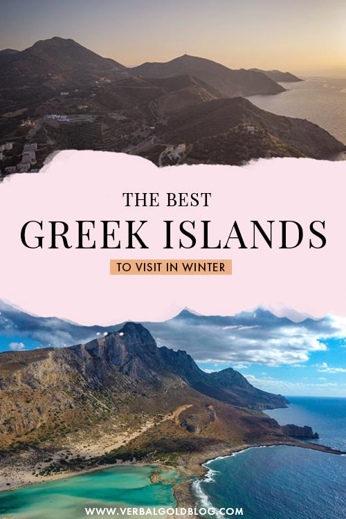 Best Greek Islands to Visit in winter