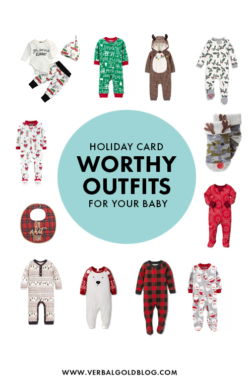 Holiday Card Worthy Outfits For Your Baby