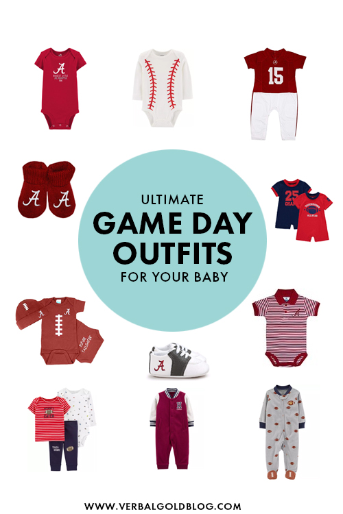 Ultimate Game Day Outfits For Your Baby