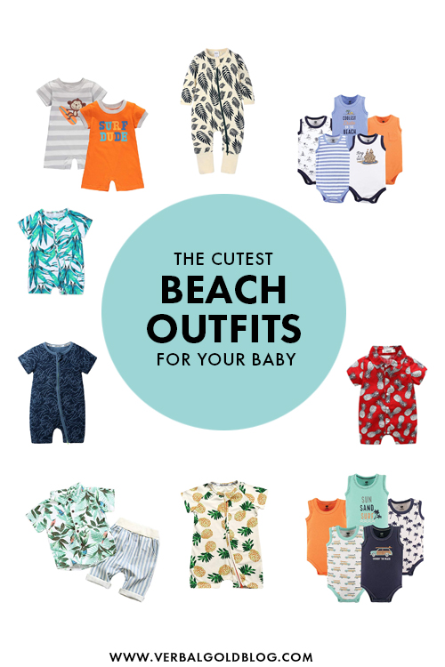 The Cutest Beach Vacay Looks For Your Baby